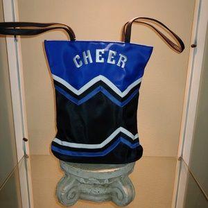 Cheerleader Royal, Black & White Tote/Bag - NEW